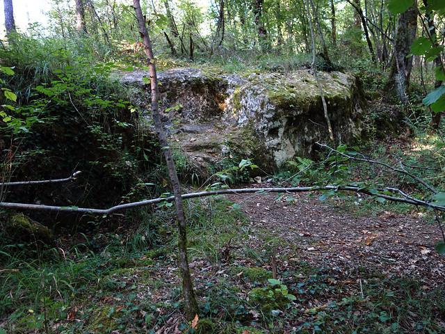 La Fauteuil de César - Prayssac - Lot - Septembre 2014 - 01