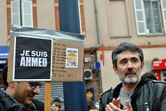 Je suis Charlie Toulouse (lyli12) Tags: france toulouse hommage rue marche manif manifestation hautegaronne midipyrnes charliehebdo jesuischarlie