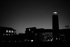 夜の高知工科大学
