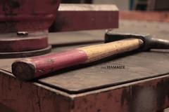 der hammer (peter pirker) Tags: red rot hammer work canon austria sterreich steel krnten carinthia stahl arbeiten werkstatt klagenfurt sttigung entsttigt peterfoto eos550d peterpirker