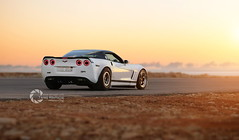 +1000rwhp Corvette (slr.performance) Tags: auto sunset white hot cars chevrolet love car speed drag cool nice dubai awesome ghost uae dream fast chevy saudi arabia riyadh dragracing qatar whiteshark dirab 1004rwhp