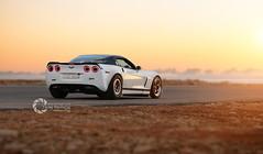 +1000rwhp Corvette (slr.performance) Tags: auto sunset white hot cars chevrolet love car speed drag cool nice dubai awesome ghost uae dream fast chevy saudi arabia riyadh dragracing qatar whiteshark dirab 1004rwhp