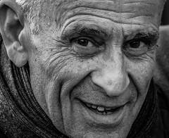 Portrait T (pootlepod) Tags: street portrait blackandwhite man male monochrome face closeup photography stphotographia