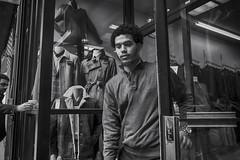 Philadelphia, 2015 (Alan Barr) Tags: street people blackandwhite bw philadelphia blackwhite candid streetphotography sp streetphoto gr ricoh chestnutstreet 2015