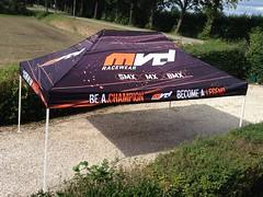 Quick Folding Tent  - Motorcrosstent