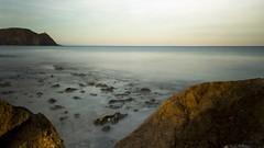 Efecto Seda 1 (Jorge Lama Moral) Tags: sea espaa beach canon mar andaluca spain playa seda almera carboneras filtrond efectoseda canon700d