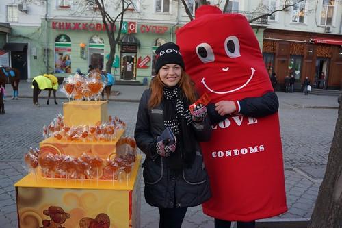 International Condom Day 2015: Odessa, Ukraine