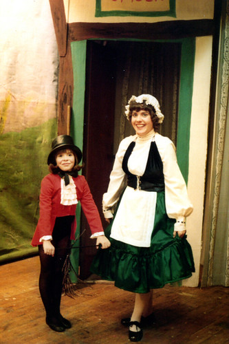 1979 Cinderella 03 (from left Lisa Young, Carolyn Young)