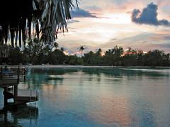 Eariy morning Hotel KIAORA Tahiti Rangiroa (sapphire_rouge) Tags: tahiti atoll rangiroa resort polynesia lagoon snorkeling france  franchpolynesia    atool polynsiefranaise