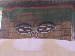 Swayambhunath Buddha Eyes