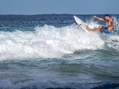 Surfer, Koko Beach, Hana HIghway, Maui, Hawai'i (Cwep) Tags: usa hawaii maui surfing location activity kokibeach roadtohana 2014