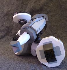 XJ2 (lingonkart) Tags: girl robot lego sister cartoon prototype robotgirl hiccup teenage wakeman moc xj2
