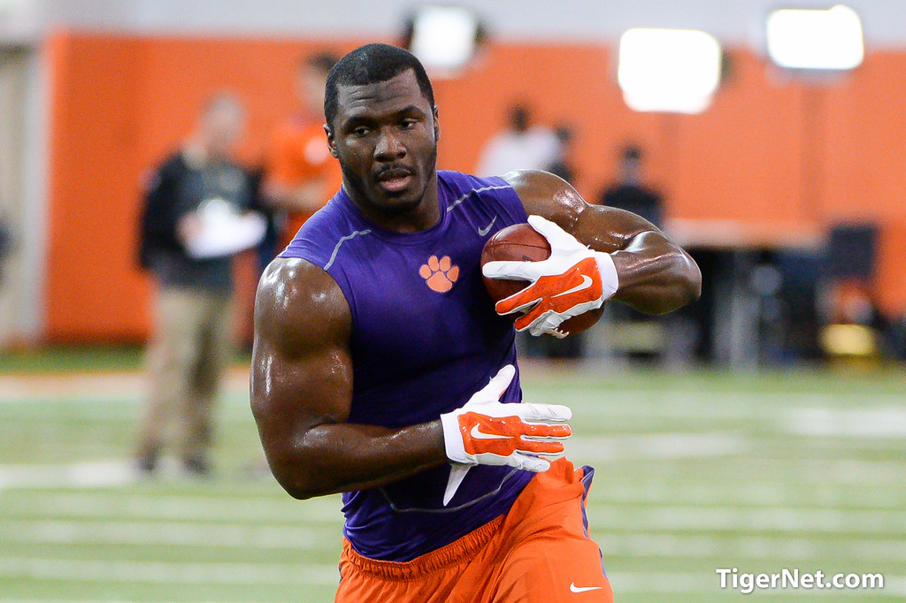 Clemson Photos: Tony  Steward, 2015, Football