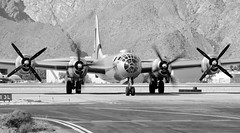 B-29 SuperFortress FIFI (John W Olafson) Tags: blackandwhite propellers boeing bomber fifi props b29 superfortress palmspringsairmuseum unsaturated n529b