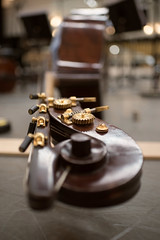 9 July 16 Clore Studio - the double bass (Nikon Girl 88) Tags: musician music house choir opera royal instrument gong tenor