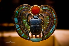 Brooch (max.fontanelli) Tags: tutankhamun king re pharaon faraone egypt egitto tomb tomba treasure tesoro golg oro