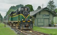 ADIX #1835 (Arkangel Productions) Tags: adirondack scenic railroad 1835 holland pattent new york central utica black river adix
