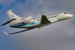 VP-CIG (GH@BHD) Tags: corporate aircraft aviation falcon executive dassault lutonairport trijet bizjet ltn londonlutonairport falcon7x egww vpcig mascair