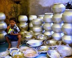 Village market (Jean-Marc Vacher) Tags: village market march chhattisgarh jagdalpur inde india