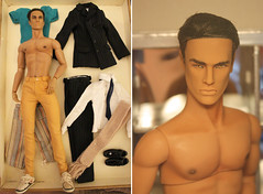 For Sale: Hunky Dreams Giftset Lukas SOLD (em`lia) Tags: fashionroyalty fr homme male doll ken fashion clothes shoes ooak repaint emiliacouture