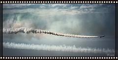 Frecce Tricolori [2] (triziofrancesco) Tags: pattugliaacrobatica areonauticamilitare aereo airplane solista bari show spettacolo esibizione sky cielo fumo smoke jetplane
