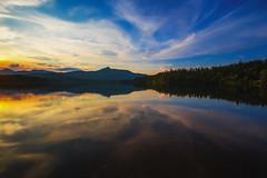 Chocorua Lake (Robert Allan Clifford) Tags: trees sunset sky lake water swimming fishing newengland newhampshire nh chocorua paddleboard mountchocorua chocorualake robertallanclifford robertallancliffordcom