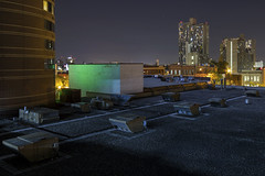 Riverside Skyline (Sam Wagner Photography) Tags: minneapolis night skyline architecture city cityscape downtown riverside seven corners apartment complex building stars lights