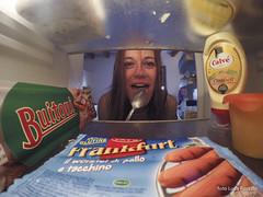 Dal tuo frigorifero #3 (Funky64 (www.lucarossato.com)) Tags: woman donna cool fridge spoon pasta mayo refrigerator freddo smeg ragazza frigo frigor cucchiaio maionese sfoglia mayonese buitoni funky64 wursterl