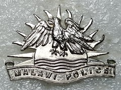 Malawi Police (obsolete) (Sin_15) Tags: malawi police cap badge insignia beret law enforcement hat