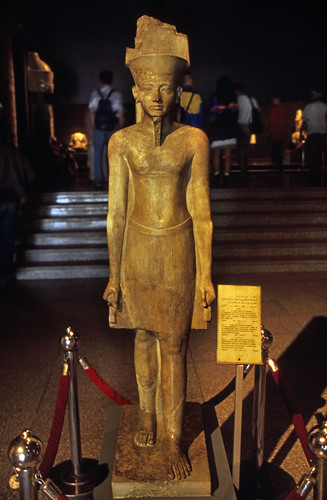 "Ägypten 1999 (236) Luxor-Museum: Amun-Statue • <a style=""font-size:0.8em;"" href=""http://www.flickr.com/photos/69570948@N04/28186711816/"" target=""_blank"">View on Flickr</a>"
