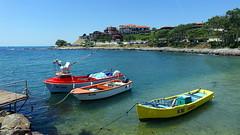 Black Sea, Nessebar, Bulgaria (alex_7719) Tags: boat nessebar nesebur bulgaria sea blacksea water coast nesebar