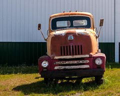 International L-160 COE (nikons4me) Tags: iowa ia old international cabover truck l160 ih coe nikond300 sigmaaf1850mmf3556dc rust faded vintage