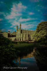 Stonyhurst College (Andrew Lancaster photography) Tags: stonyhurstcollege college landscape buildings river stream beauty