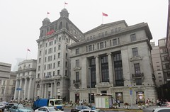 Old Bank of Taiwan, North China Daily News, and Chartered Bank Buildings (Shanghai, China) (courthouselover) Tags: china 中国 peoplesrepublicofchina 中华人民共和国 shanghaishi 上海市 shanghai 上海 thebund 外滩 huangpudistrict huangpu 黄浦区 asia