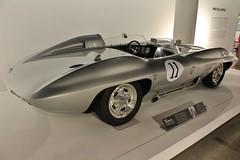 The New Petersen Automotive Museum (USautos98) Tags: chevrolet stingray chevy corvette 1959 racer xp87
