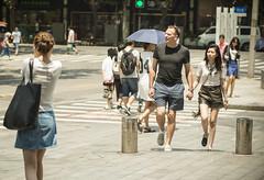 lifeinthehigh30s 3 (matteroffact) Tags: shanghai china asia heat heatwave celcius fahrenheit hot temperature summer umbrella hell hades street puxi jing an jingan district humid nikon d800 d800e andrew rochfort andrewrochfort matteroffact shade sweat