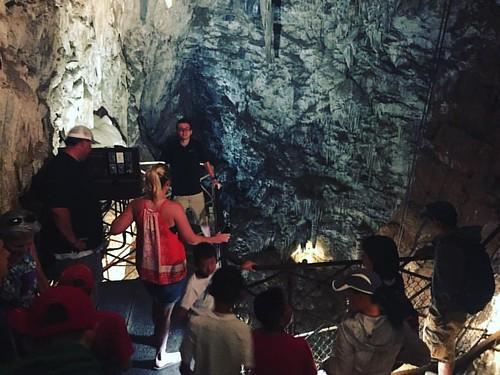 Descending over 165 into the earth this morning at @moaningcavern @gocalaveras @visitca #roamon #30DaysInCali #cave #cavern #goldcountry #adventure   #travel #travelblog #travelblogger #wanderlust #nomad