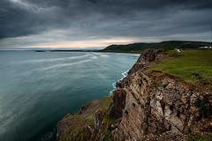 Rhossili (technodean2000) Tags: uk cliff rock swansea wales landscape coast nikon long exposure outdoor head south shore gower worms lightroom rhossili crag d610