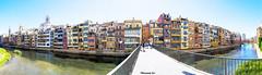Girona Panormica (rossendgricasas) Tags: landscape street photo photography nikon photoshop catalonia girona raw tamrom panormica
