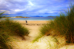 Dunes and Sky (David in SK6) Tags: beach connemara sanddunes