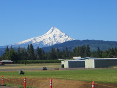 Mt. Hood, Oregon (Joel Abroad) Tags: oregon hoodriver mountains snowcapped landscape kenjernstedtairfield mthood