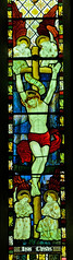 Much Marcle Herefordshire - East Window - Crucifixion (David Cronin) Tags: muchmarcle herefordshire bartholomew saintbartholomew stained glass stainedglass kempe cekempe crucifixion