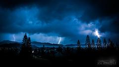 Triple Lightning strike from Tropical Storm Darby in Hawaii _A6A1933 (The Smoking Camera) Tags: lightning storm tropical darby hawaii oahu windward kailua lanikai koolau weather strike triple nikon d810a 1424mm
