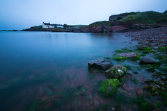 St Brides (^hanky1984^) Tags: longexposure blue sunset sea beautiful seaside nikon waves stones 10 tokina stop filter hour nd pembrokeshire stbrides 1116 nd1000 d5200 tokina1116