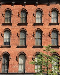 Faade_1268 (Prof Ryall) Tags: faade building brick windows patterns repetition downtown albanyny