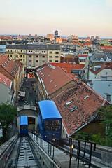 Zagreb Funicular (Miroslav Vajdi) Tags: zagreb croatia cityscape m1r0slavv travel adventure trip tourist vacation travelphotography instatravel city europe beautifullnature cleannature greatnature wallpaper   vip  i      funicular