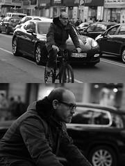 [La Mia Citt][Pedala] (Urca) Tags: milano italia 2016 bicicletta pedalare ciclista ritrattostradale portrait dittico nikondigitale mir bike bicycle biancoenero blackandwhite bn bw 872109