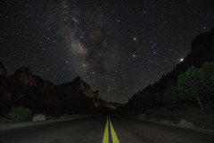 Road to Zion, Zion National Park, Utah