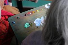 Colours (Bruno Sangiovanni) Tags: old oldwoman woman anciana colour color colores colours colourful colorido draw pintura paint dibujo retrato portrait