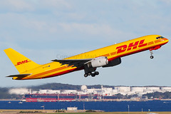 DHL Boeing 757-236 (PCF) VH-TCA (Mark Harris photography) Tags: spotting aircraft plane aviation canon yssy 5d sydney